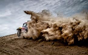 Picture Sand, Sport, Desert, Machine, Speed, Car, Rally, Dakar, Dakar, Rally, Dune, Buggy, X-Raid Team, MINI …