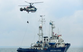 Picture helicopter, exercises, patrol