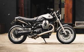 Picture metal, wheels, bike, chrome, shine, engine, bellagio, 940, moto guzzi