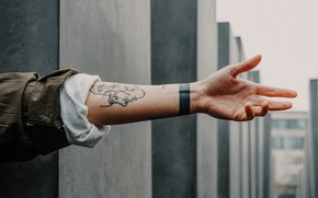 Picture background, hand, tattoo