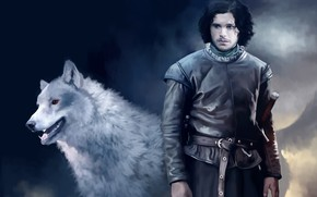Picture Wolf, Guy, Game of thrones