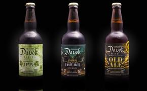 Picture background, bottle, trio, brand