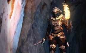 Picture sword, knight, Goblin Slayer, The killer of goblins