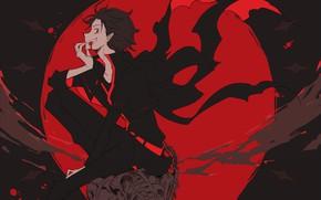 Picture vampire, guy, Subaru, cosplay, Re: Zero Kara Hajime Chip Isek Or Seikatsu