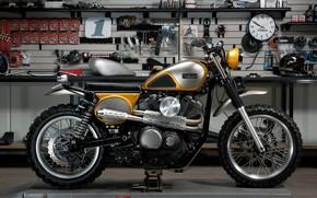Picture Yamaha, Custom, Garage, Yamaha SCR950