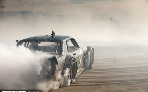 Picture Mustang, Ford, Drift, Car, Race, Speed, Smoke, Hoonigan