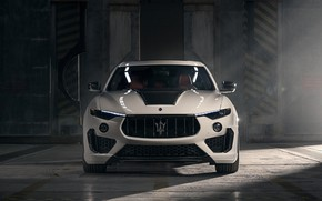 Picture Maserati, front view, crossover, Rosso, Novitec, 2020, Q4, GranSport, Levante S, Extended V2