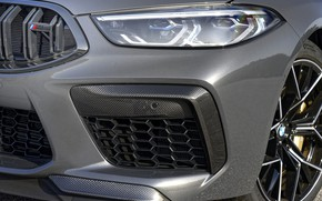 Picture headlight, BMW, convertible, bumper, 2019, BMW M8, M8, F91, M8 Competition Convertible, M8 Convertible