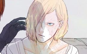 Picture anime, art, guys, death note, Matt, Mello
