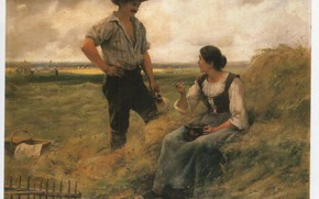 Picture THE HARVEST, A BREAK FROM, DUPRE