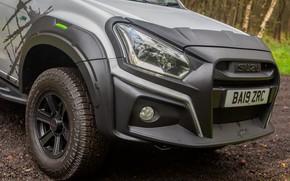 Picture pickup, the front part, Isuzu, D-Max, 2019, UK version, XTR