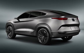 Picture rear view, Fastback, 2018, crossover, Fiat, SUV