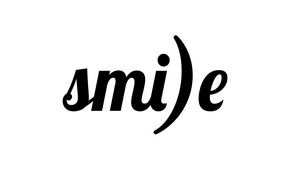 Picture letters, smile, the word
