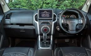 Picture black, interior, pickup, Isuzu, 2020, Arctic Trucks, D-Max, UK version, AT35