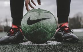 Picture legs, macro, blur, football, bokeh, ball, hand, sports, person, feet, football player, lawn, soccer ball, …