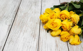 Picture roses, bouquet, yellow, flower, beautiful, roses, bouguet, Olena Rudo