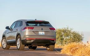 Picture Volkswagen, back, Atlas, Cross, 2020, Sport