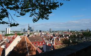 Picture estonia, cityscape, old town, tallinn