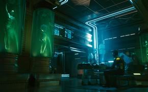 Picture future, Bar, cyberpunk, rpg, video game, video game, night city, CD Projekt RED, Cyberpunk 2077, …