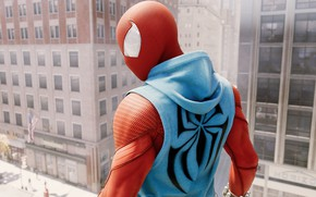 Picture the city, the game, spider-man, Spider Man
