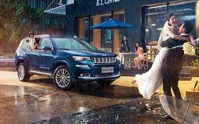 Picture Grand, wedding, 2018, Jeep, Commander, Summit