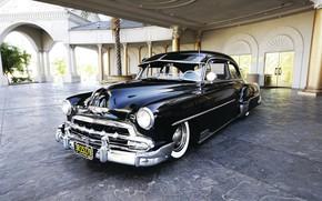 Picture Chevrolet, Car, Vintage, Deluxe, 1952
