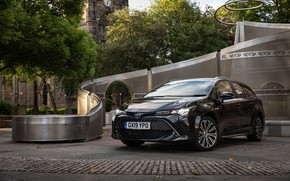 Picture Toyota, Hybrid, Sports, Touring, Corolla, 2019