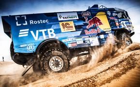 Picture Sand, Auto, Sport, Machine, Truck, Race, Master, Russia, 300, 2018, Kamaz, Rally, KAMAZ-master, Rally, KAMAZ, …
