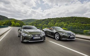 Picture coupe, Lexus, convertible, LC 500, Lexus LC, 2021, LC 500 Convertible