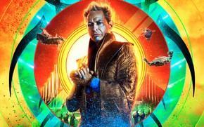 Picture poster, Jeff Goldblum, Thor: Ragnarok, Thor: Ragnarok, Jeff Goldblum, Грандмастер