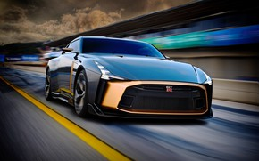 Picture Concept, Nissan, 2018, ItalDesign, GT-R50