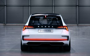 Picture rear view, 2018, Skoda, Vision RS