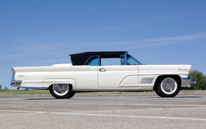 Picture 1960, side view, Convertible, Lincoln Continental, Mark V