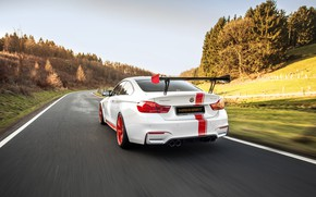 Picture rear view, 2018, 550, BMW M4, Manhart Racing, MH4