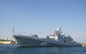 Picture ship, frigate, guard, Admiral Makarov