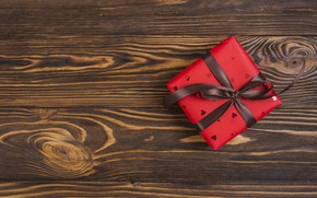 Picture gift, Love, tape, Wood, ribbon, Gift, Heart