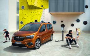 Picture Children, Opel, Brown, Male, Metallic, 2021, Combo-e Life, Пассажирских электромобиль, Электрический минивэн, 136 л.с.