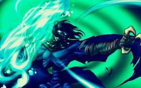 Picture Figure, The game, Art, Art, Ghost, Character, Raziel, Raziel, Legacy of Kain, Video game, The …