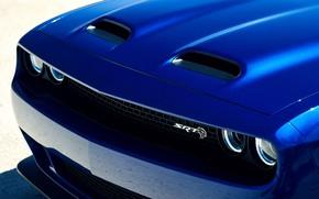 Picture Dodge, Challenger, front view, Hellcat, SRT, Widebody, 2019