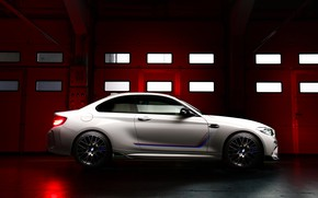 Picture BMW, side view, Competition, 2019, BMW M2, Edition Heritage