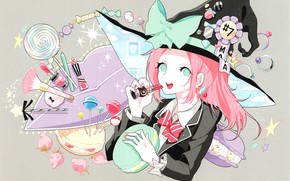 Picture girl, candy, witch, Yamada-kun and the seven witches, Yamada-kun and the seven Witches, Maria Sarushima