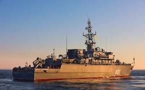 Picture ship, Baltika, project 12700, Ivan Antonov, mine