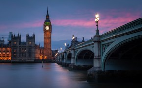 Picture Ben, London, River Thames, Westminster