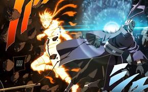 Picture battle, naruto, upholstered Uchiha, naruto shippuuden