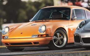 Picture Auto, Porsche, Machine, Rendering, Sports car, Heritage, Porsche 911 GT3 RS, Transport & Vehicles, Porsche …