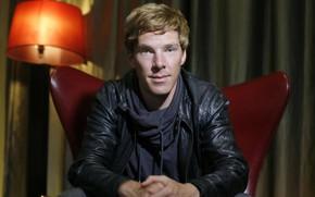 Picture look, actor, Benedict Cumberbatch, Benedict Cumberbatch, British actor, the half-smile