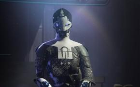Picture background, robot, Destiny 2