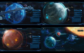 Picture space, planet, stars, location, Sistema