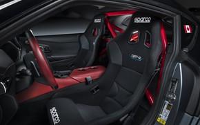 Picture grey, background, coupe, interior, Toyota, 2020, GR Supra Track Concept