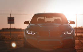 Picture BMW, Light, Blue, Sunset, Evening, Face, F80, Sight, LED